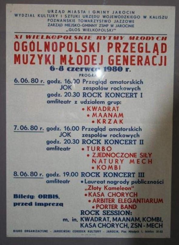 6 czerwca 1980 roku rozpoczął się…I Ogólnopolski Przegląd Muzyki Młodej Generacji.