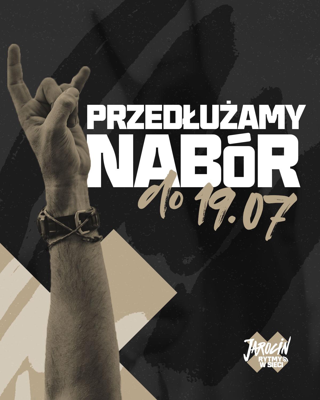 """Przedłużamy nabór do konkursu """"Rytmy w sieci""""!"""