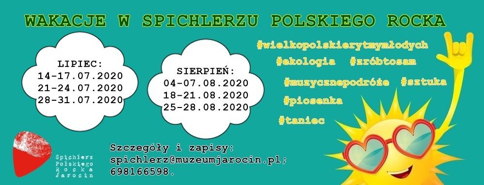Wakacje w Spichlerzu Polskiego Rocka :) Zapraszamy! Polecamy!