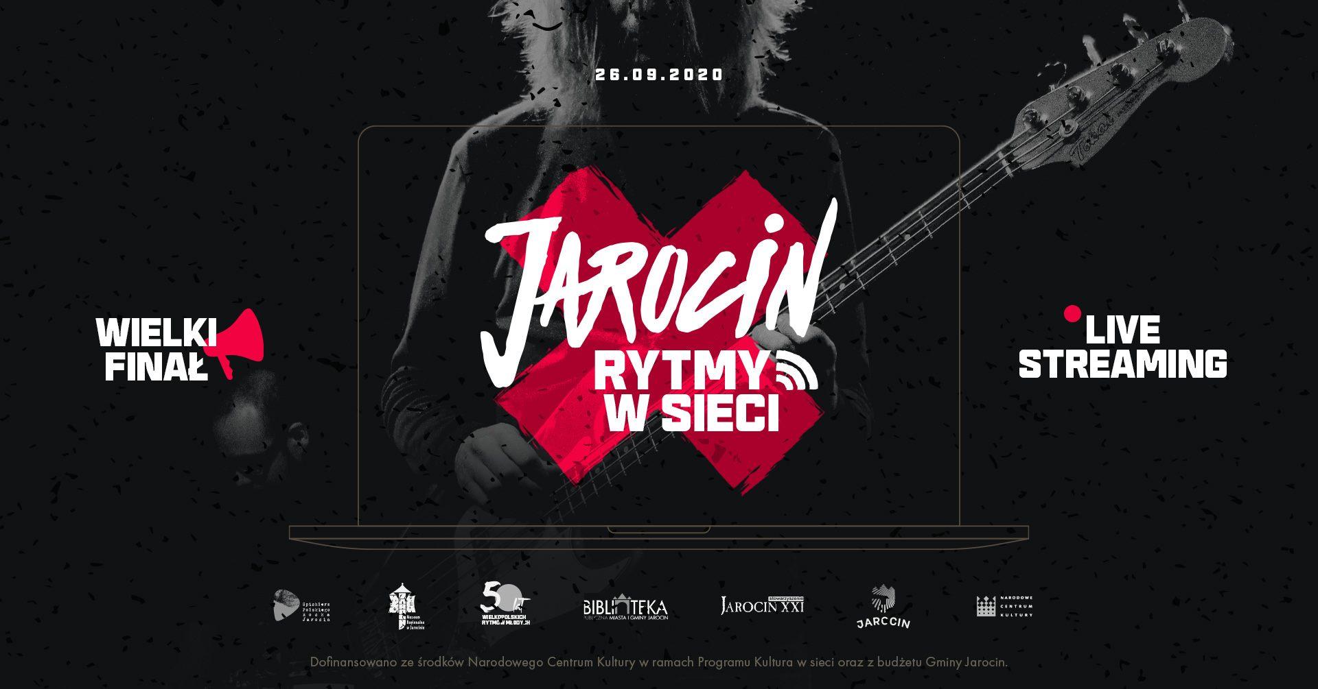 """Zapis Jarocin Festiwal 2020 """"w sieci"""" dostępny na YT."""