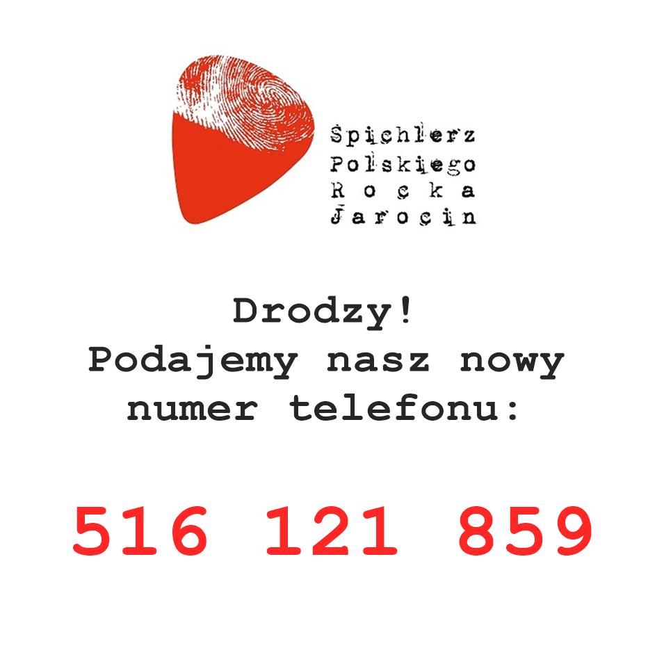 Nowy numer telefonu do SPR.