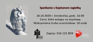 Spotkanie z Kajetanem Jagiełką za 10 dni w Spichlerzu. Zapraszamy!