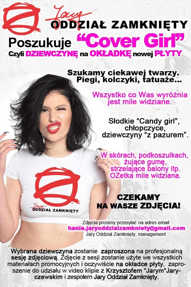 """Cover girl"" poszukiwana."