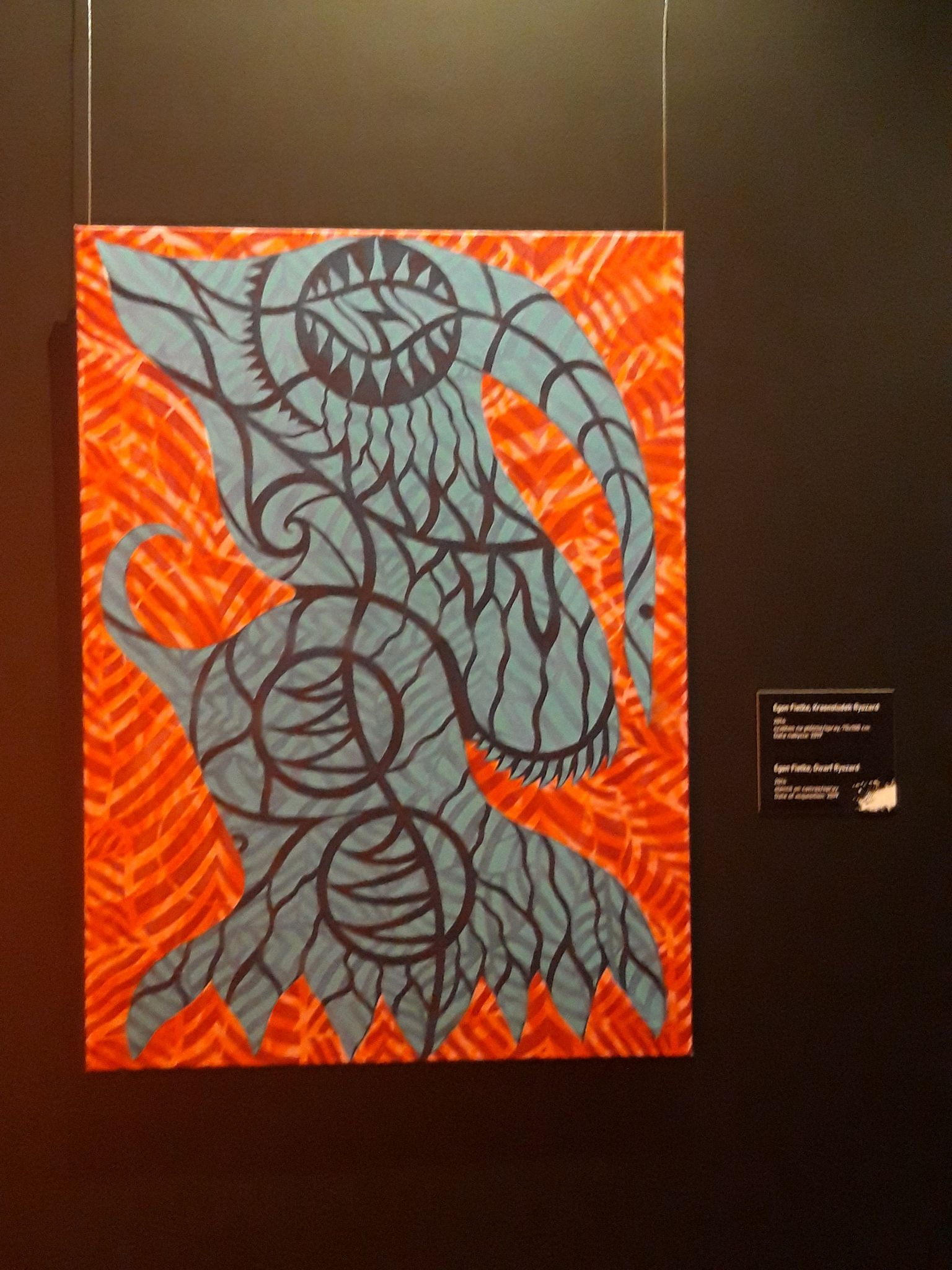 """Trzecia odsłona wystawy czasowej """"W czterech odsłonach. Street Art z kolekcji Muzeum Regionalnego w Jarocinie"""" dostępna w strefie Art Rock od dziś (23.02.2021 r.) do 11 kwietnia 2021 r."""