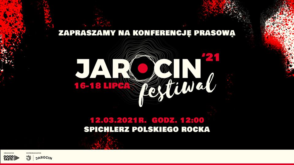 Jarocin Festiwal 2021 – konferencja prasowa