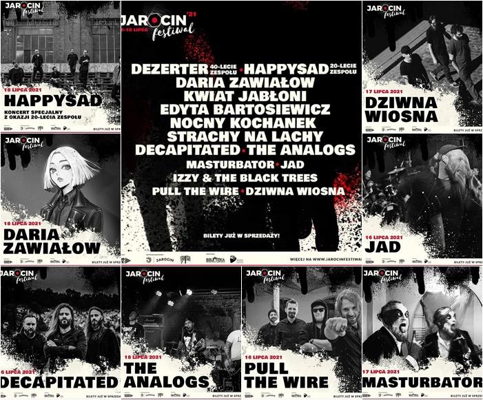 Jarocin Festiwal 2021 – znamy kolejnych artystów, którzy zagrają w Jarocinie.