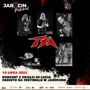 Jarocin Festiwal 2021 – do składu dołącza zespół TSA.