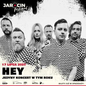 Jarocin Festiwal 2021 – zespół HEY zamyka line up!