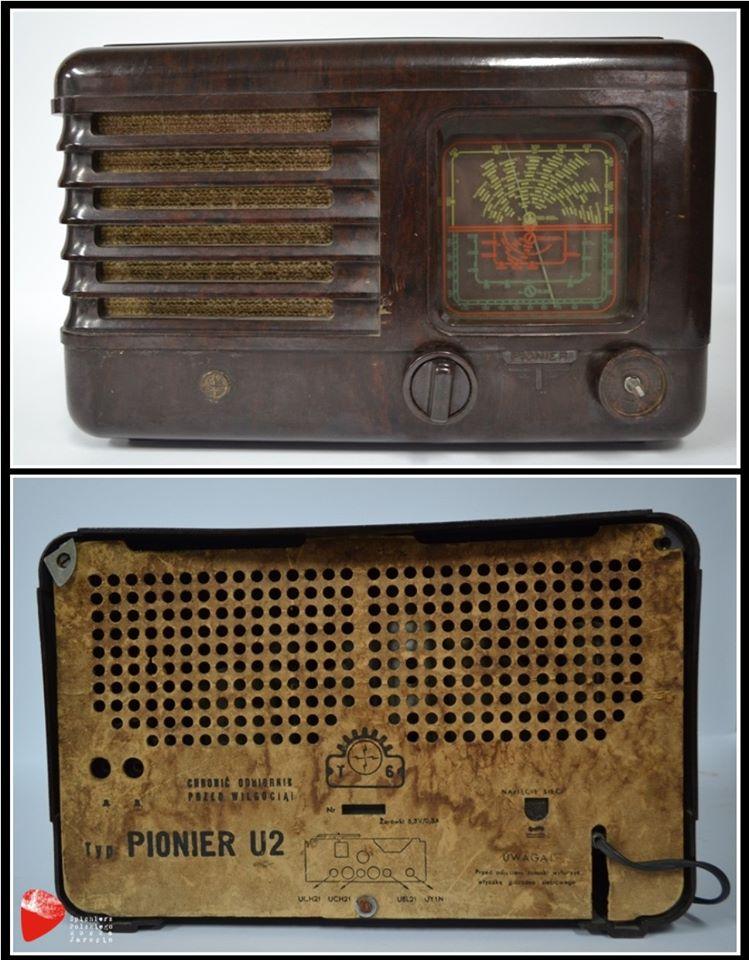 "Radioodbiornik ""Pionier U2""."
