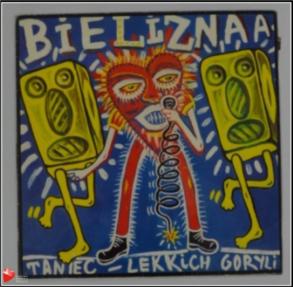 """Album """"Taniec Lekkich Goryli"""" zespołu Bielizna."""