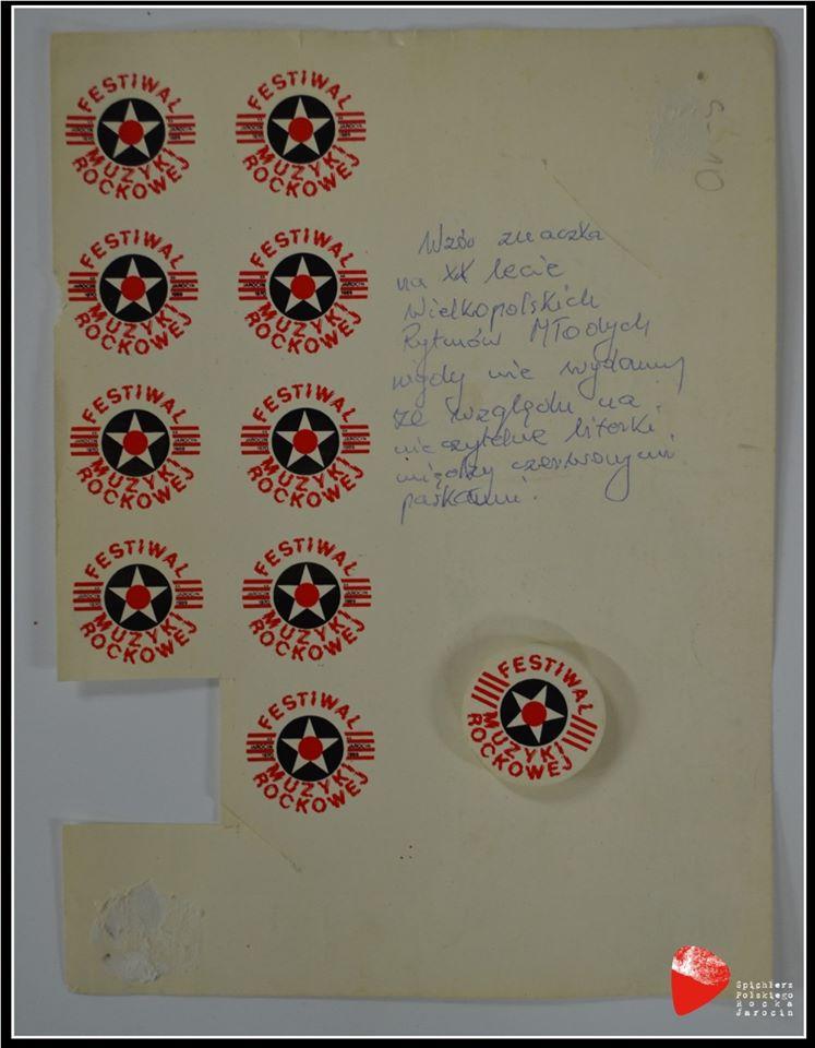 Projekt znaczka na XX-lecie WRM.