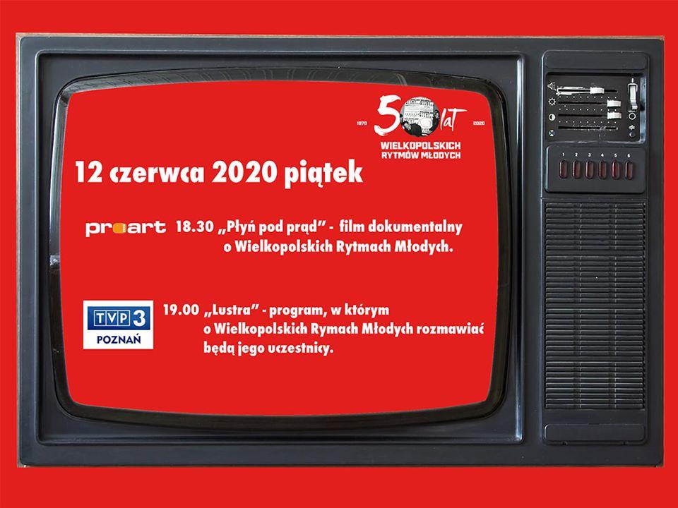 """Film """"Płyń pod prąd"""" w Telewizji Proart i dyskusja na temat Rytmów w TVP Poznań już dziś (12.06.2020 r.). Polecamy!"""