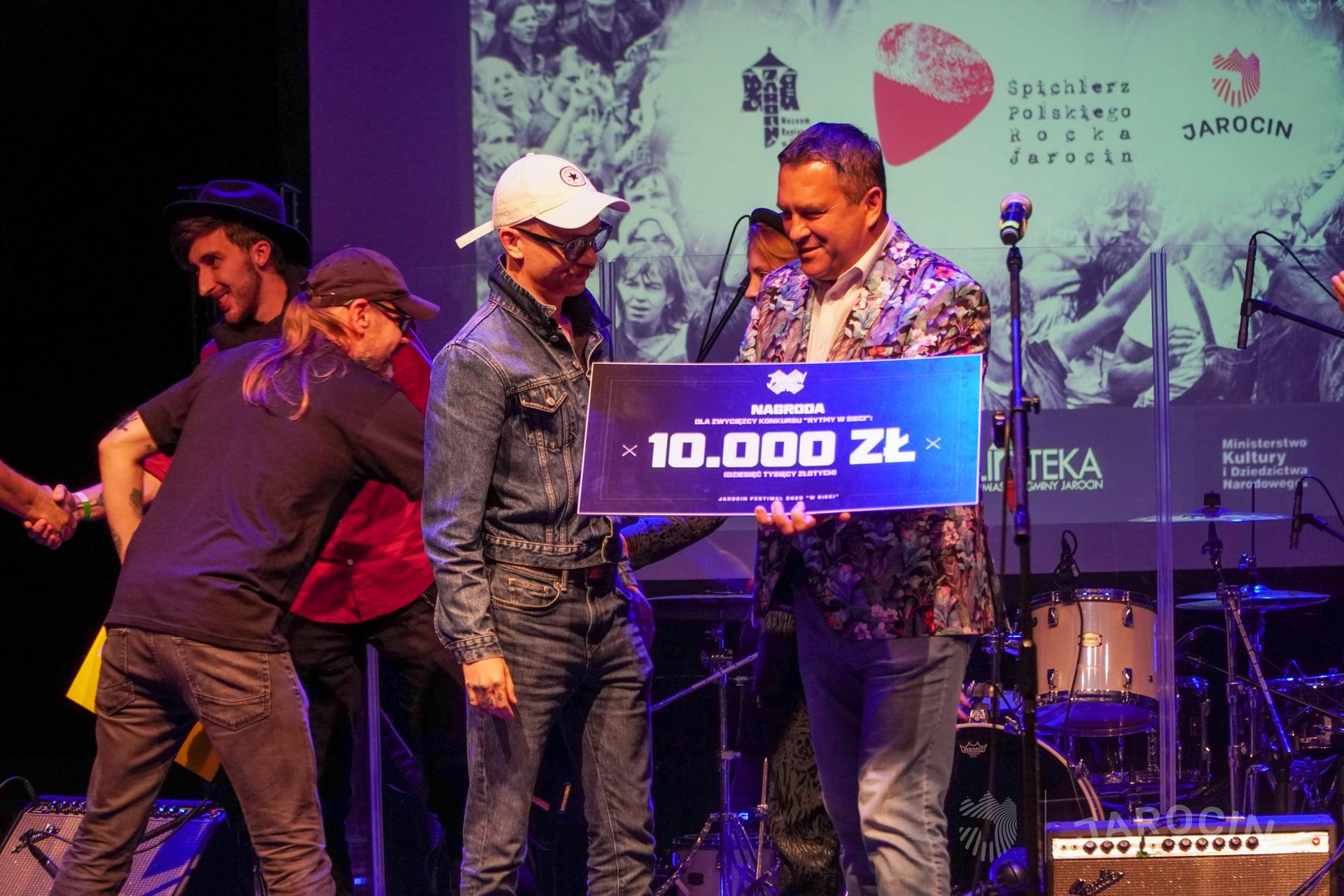 """Jarocin Festiwal 2020 """"w sieci"""" – finał konkursu """"Rytmy w sieci"""" – fotorelacja"""