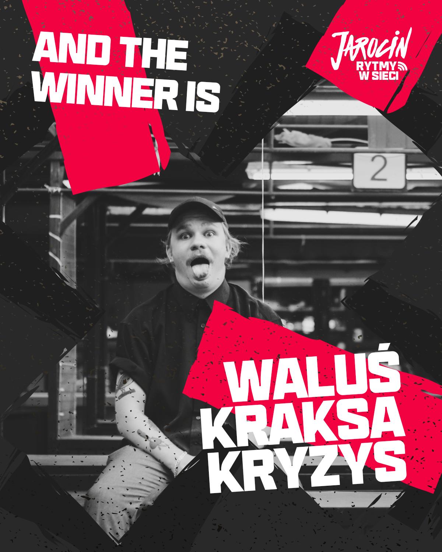 """""""Rytmy w sieci"""" 2020 – zwycięzcą został WalusKraksaKryzys. Gratulujemy!"""
