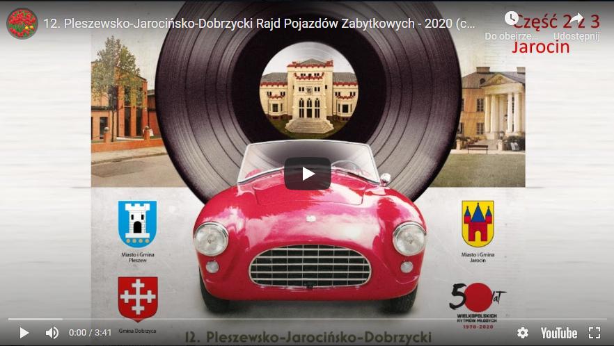 12. Pleszewsko-Jarocińsko-Dobrzycki Rajd Pojazdów Zabytkowych – videorelacja :)