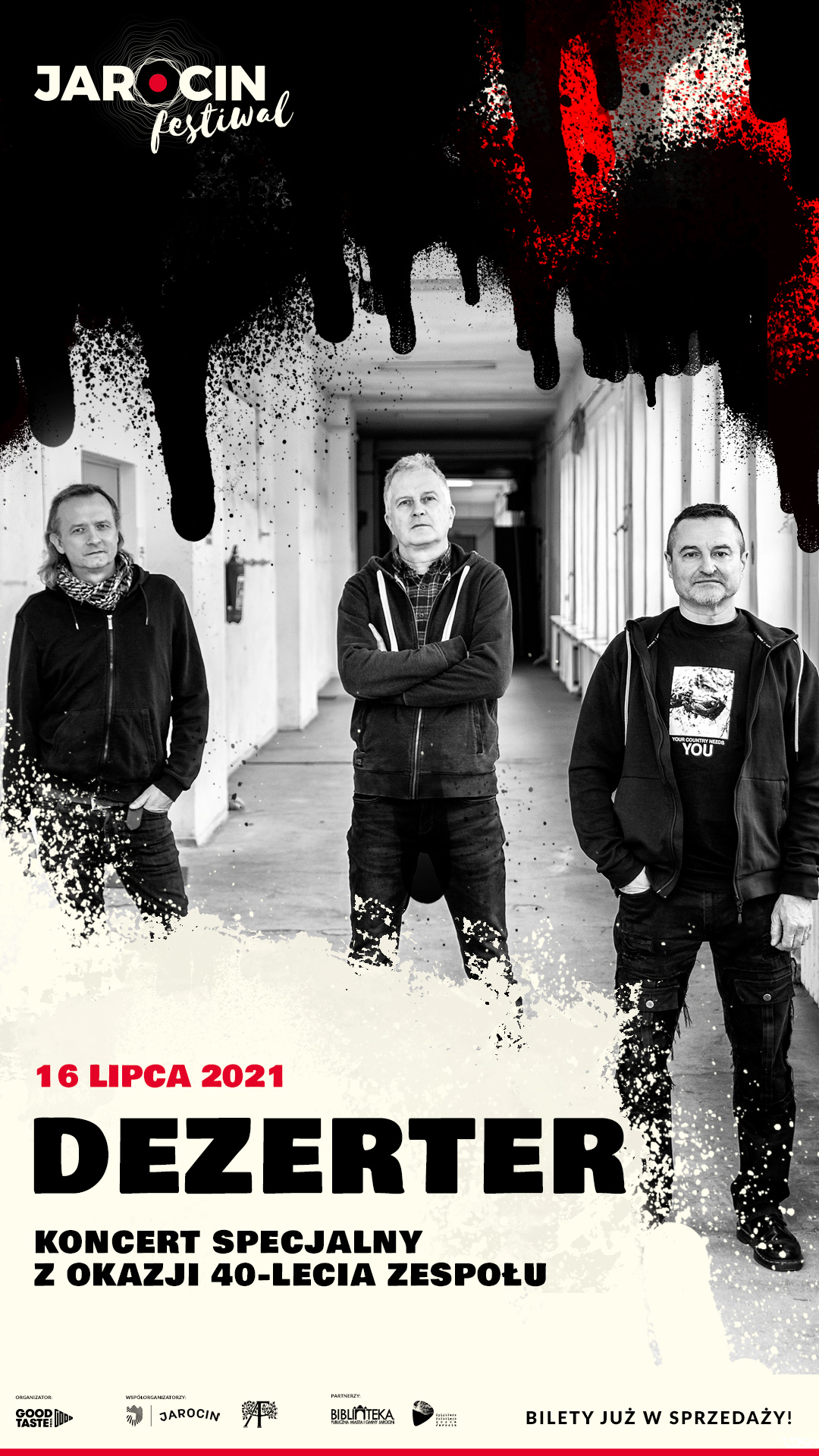 Jarocin Festiwal 2021 – koncert Dezertera z okazji 40-lecia zespołu