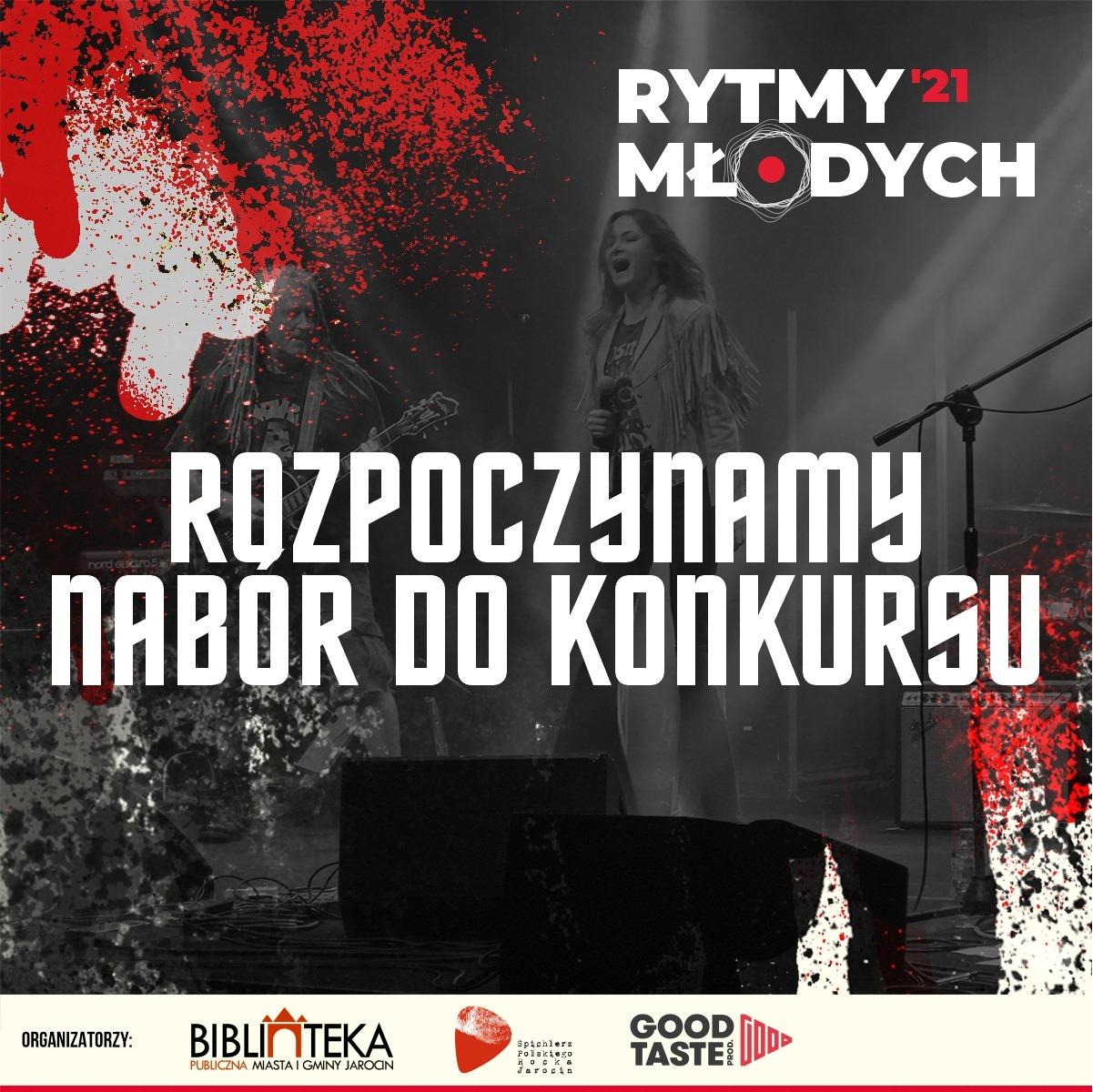 Jarocińskie Rytmy Młodych 2021 – konkurs wystartował!