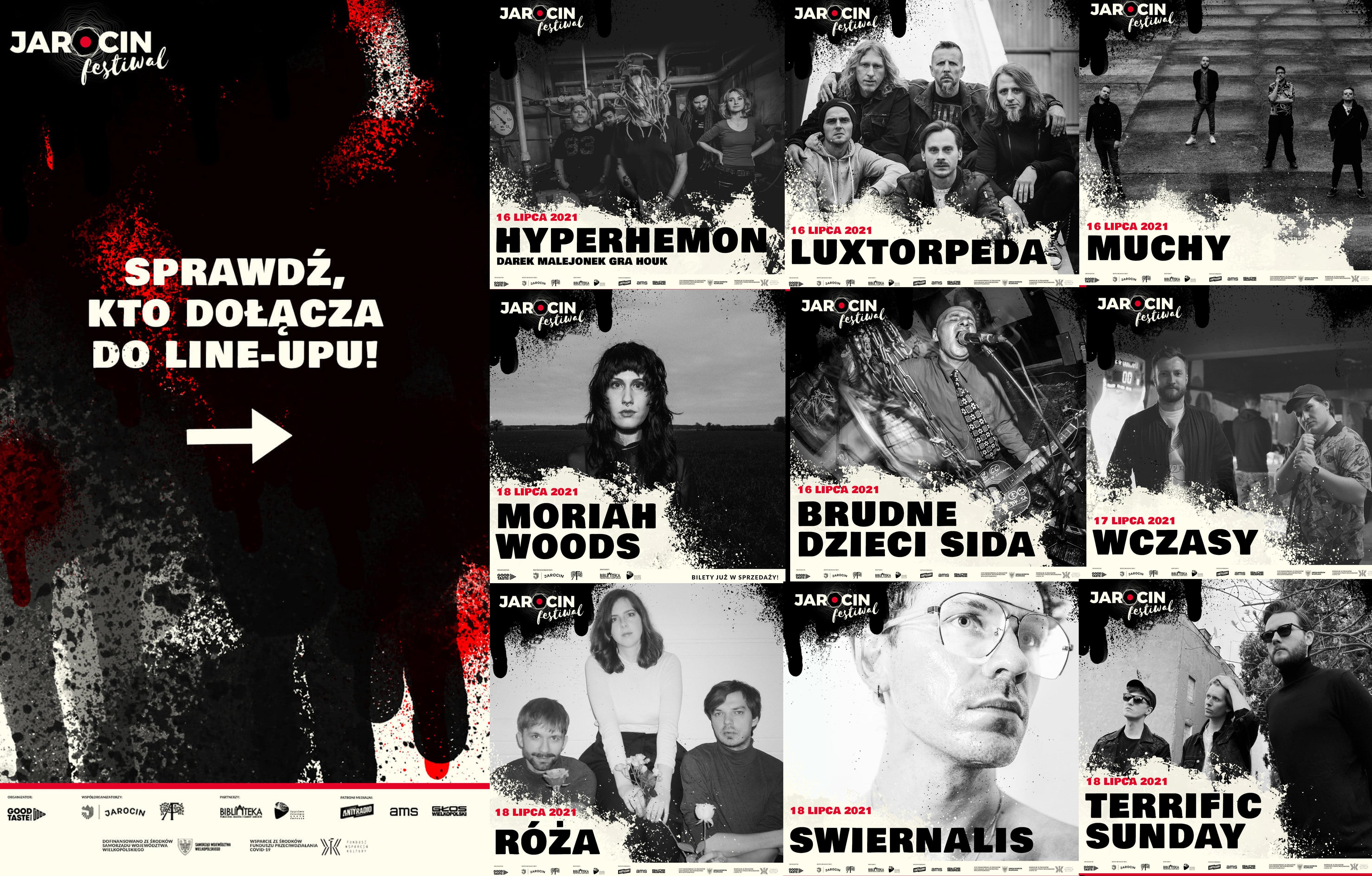 Jarocin Festiwal 2021 – kolejne ogłoszenie artystów
