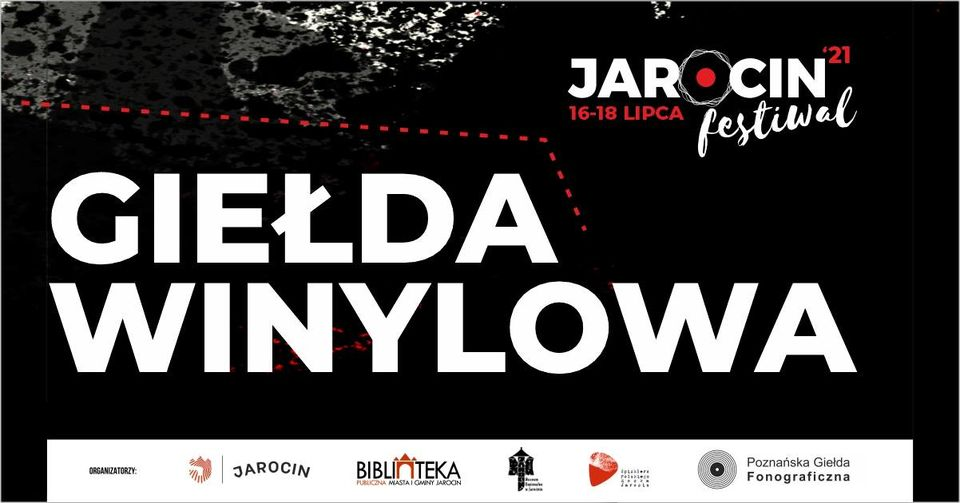 Jarocin Festiwal 2021 – giełda winylowa w nowym amfiteatrze :)
