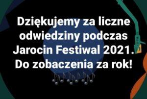 Dziękujemy za odwiedziny muzeum podczas Jarocin Festiwal 2021 :)