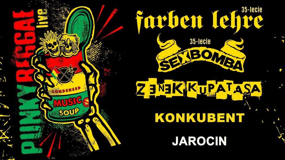 PUNKY REGGAE live 2021 – Jarocin – Kontrapunkt/SPR. Polecamy!
