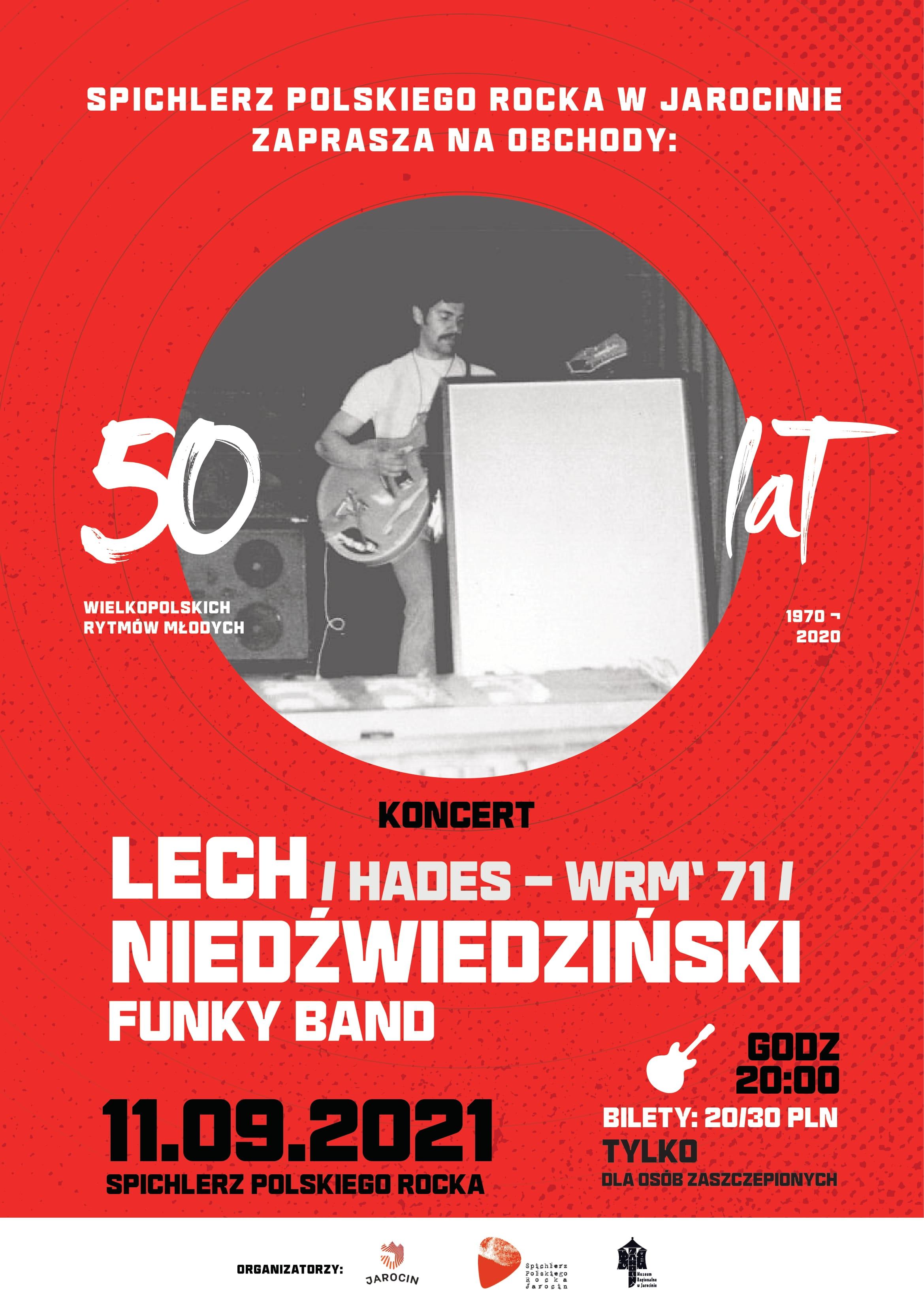 Funky Band gra Hades – koncert w SPR. Zapraszamy!